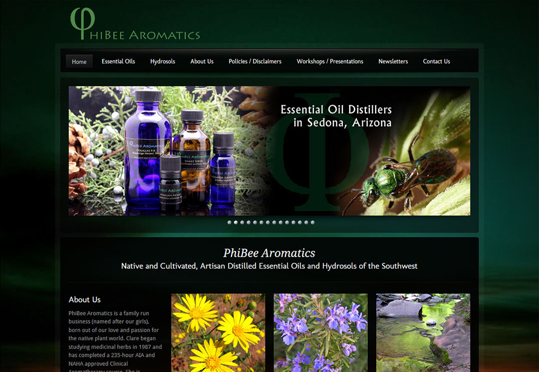 Aromatherapy Websites
