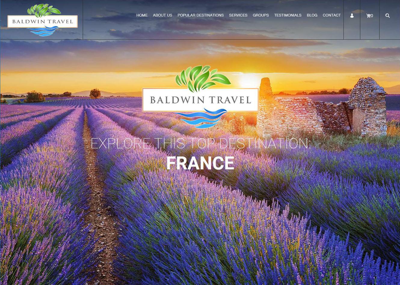 Websites for Travel Agents