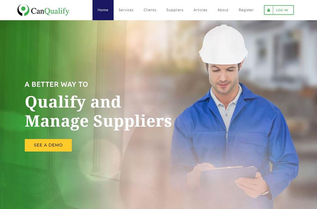 Can Qualify - SaaS Web Design