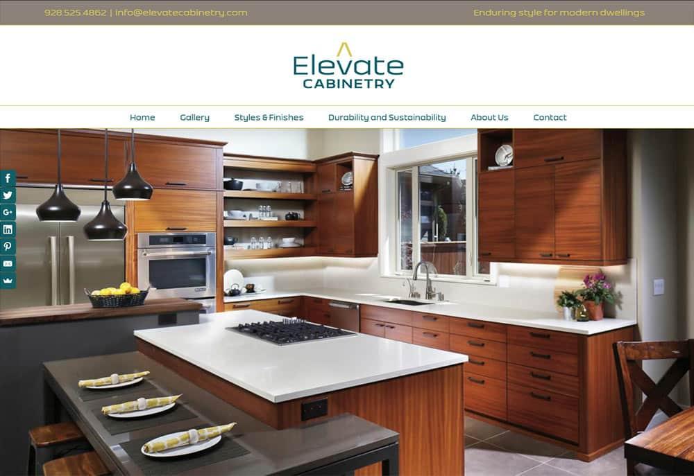 Cabinetry Website Design