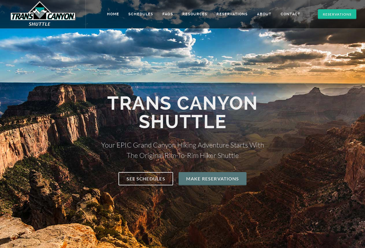 Grand Canyon Web Design