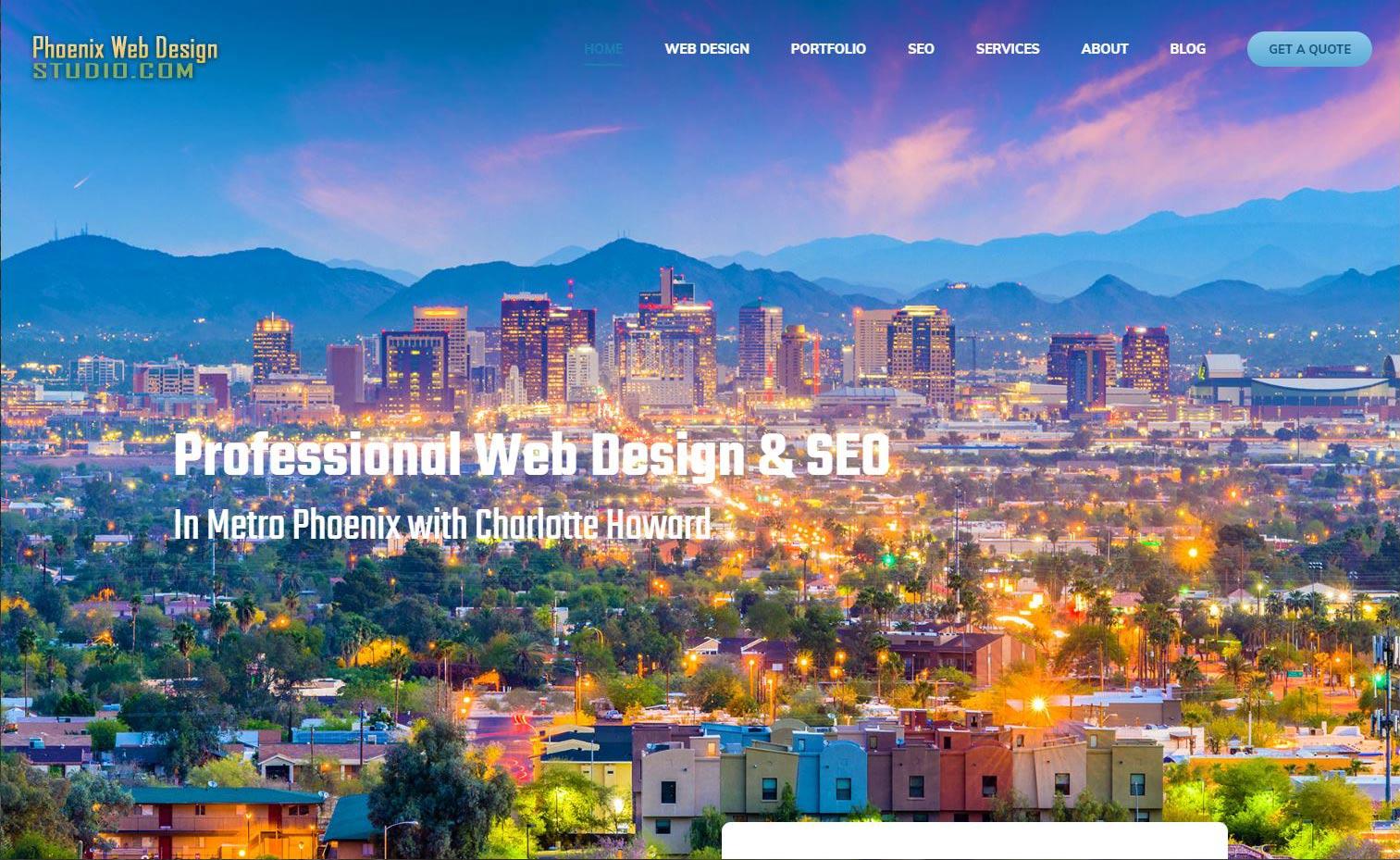 Phoenix and Scottsdale Area Web Design
