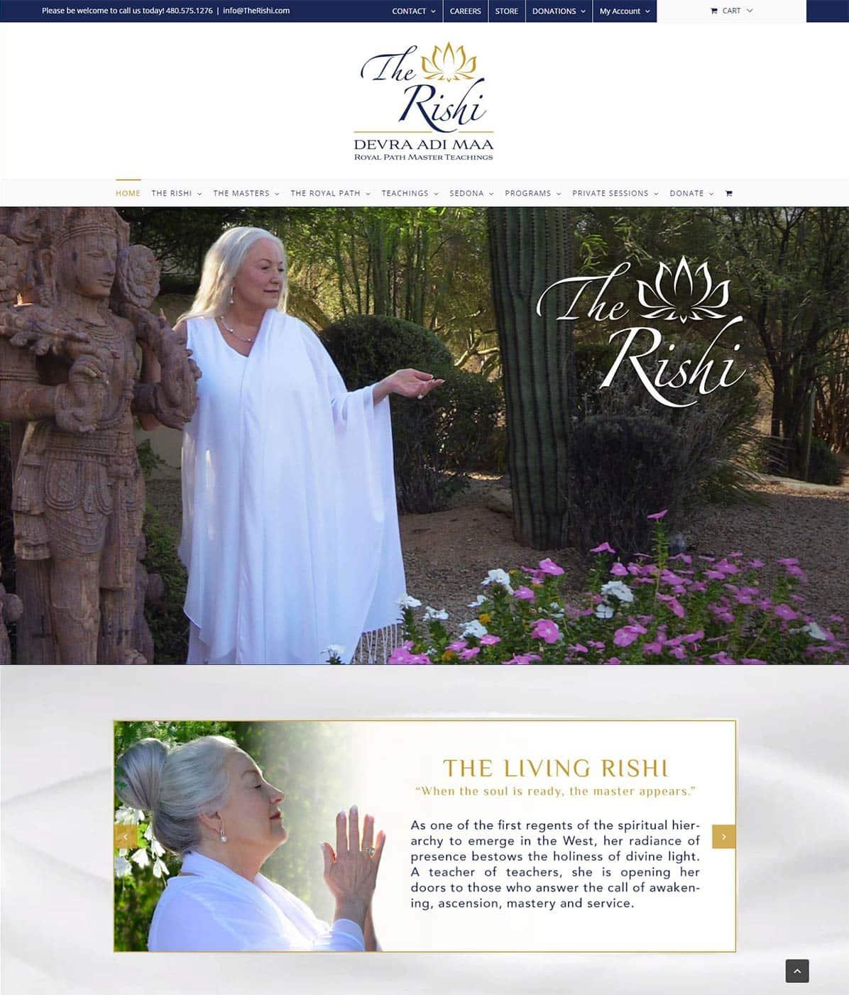 Web Design for Spiritual Leaders