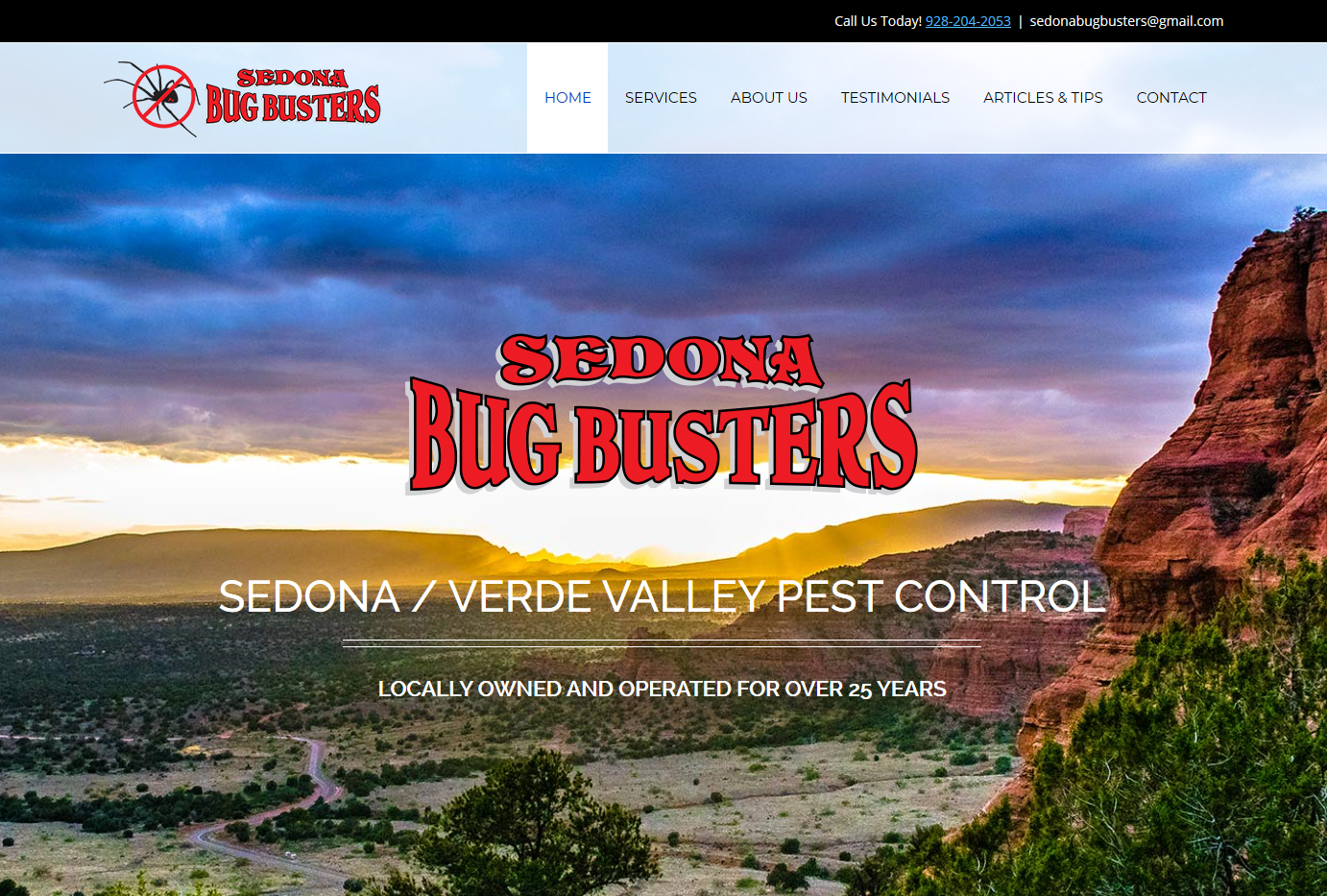 Sedona Websites for Small Business