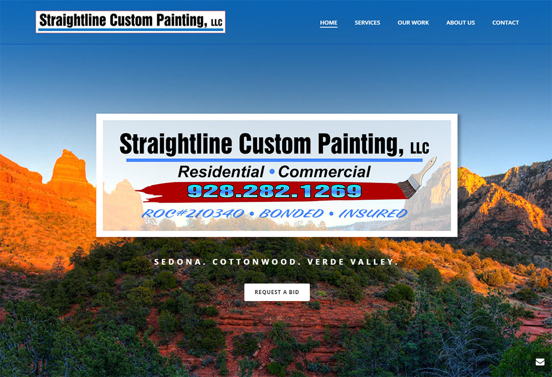 Websites for Residential and Commercial Painters