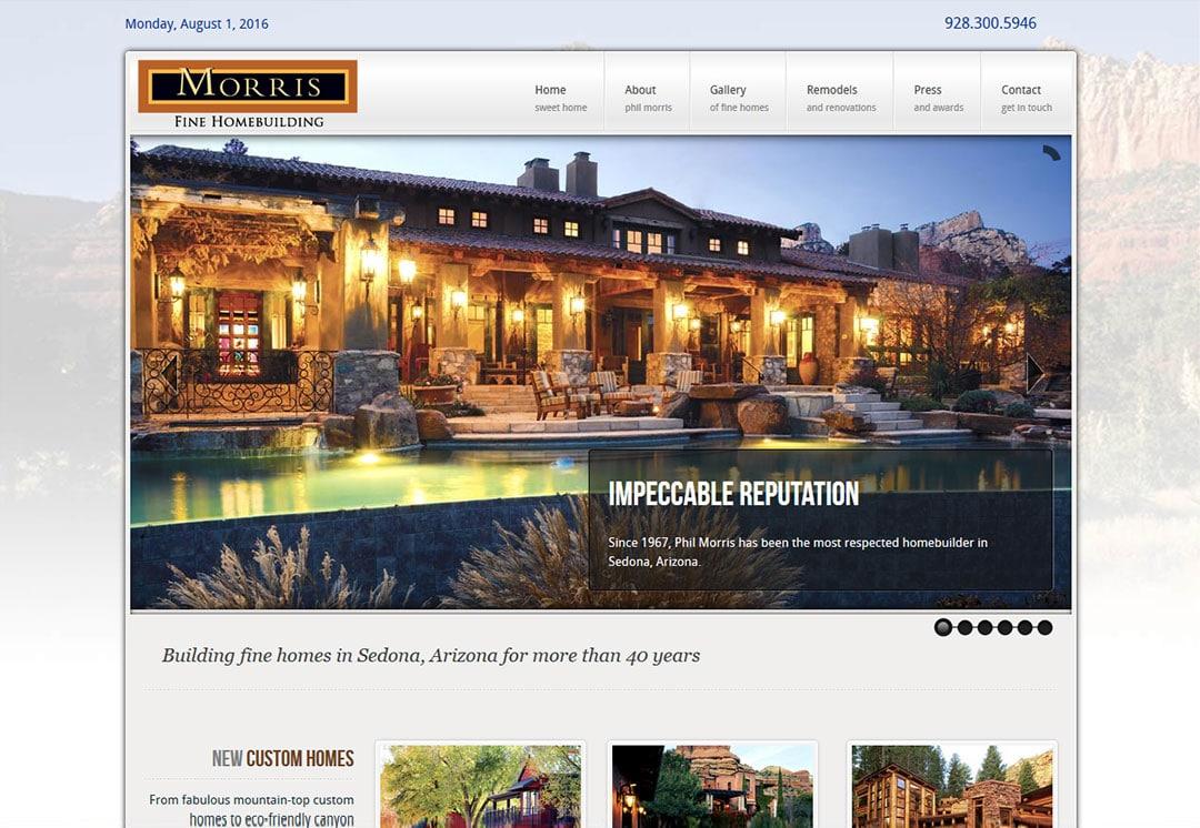 Sedona Web Design for General Contractors