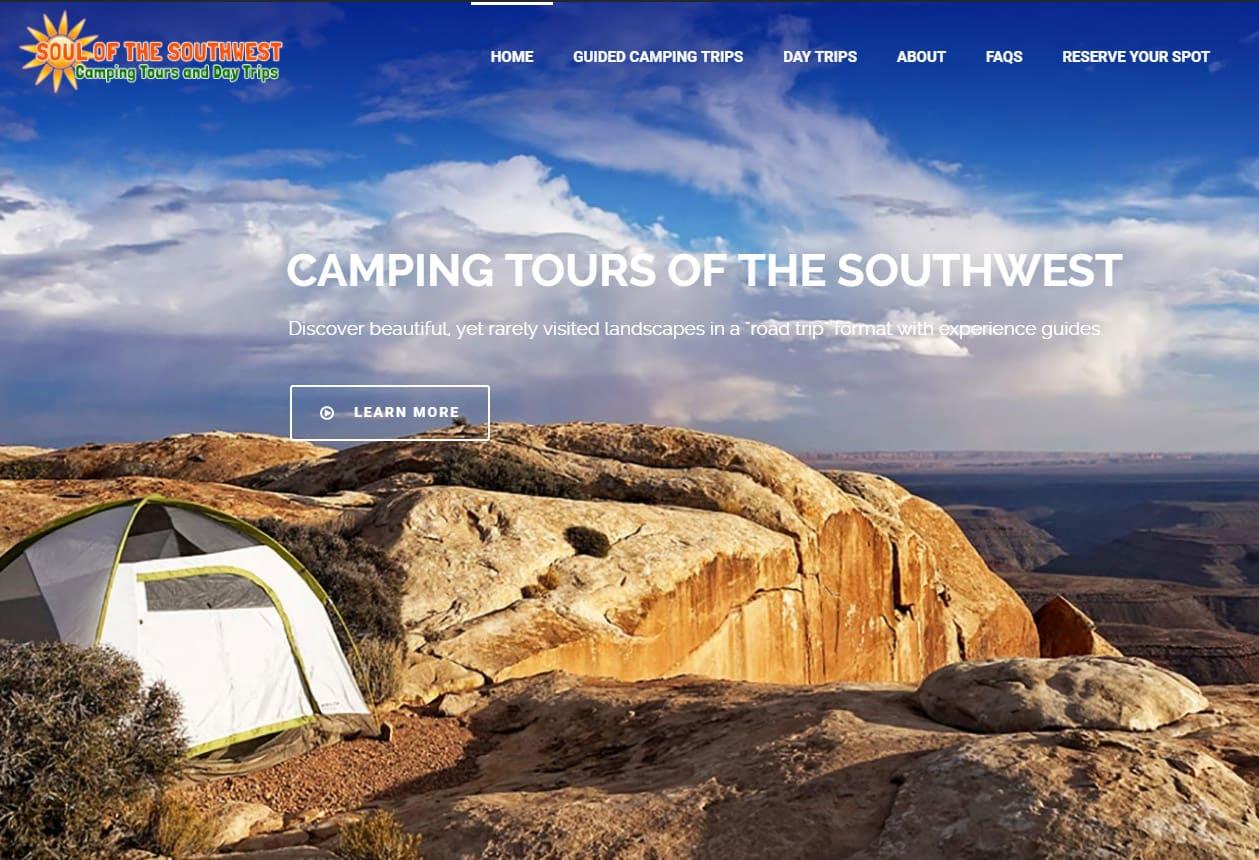 Web Design for Southwest Adventure Companies