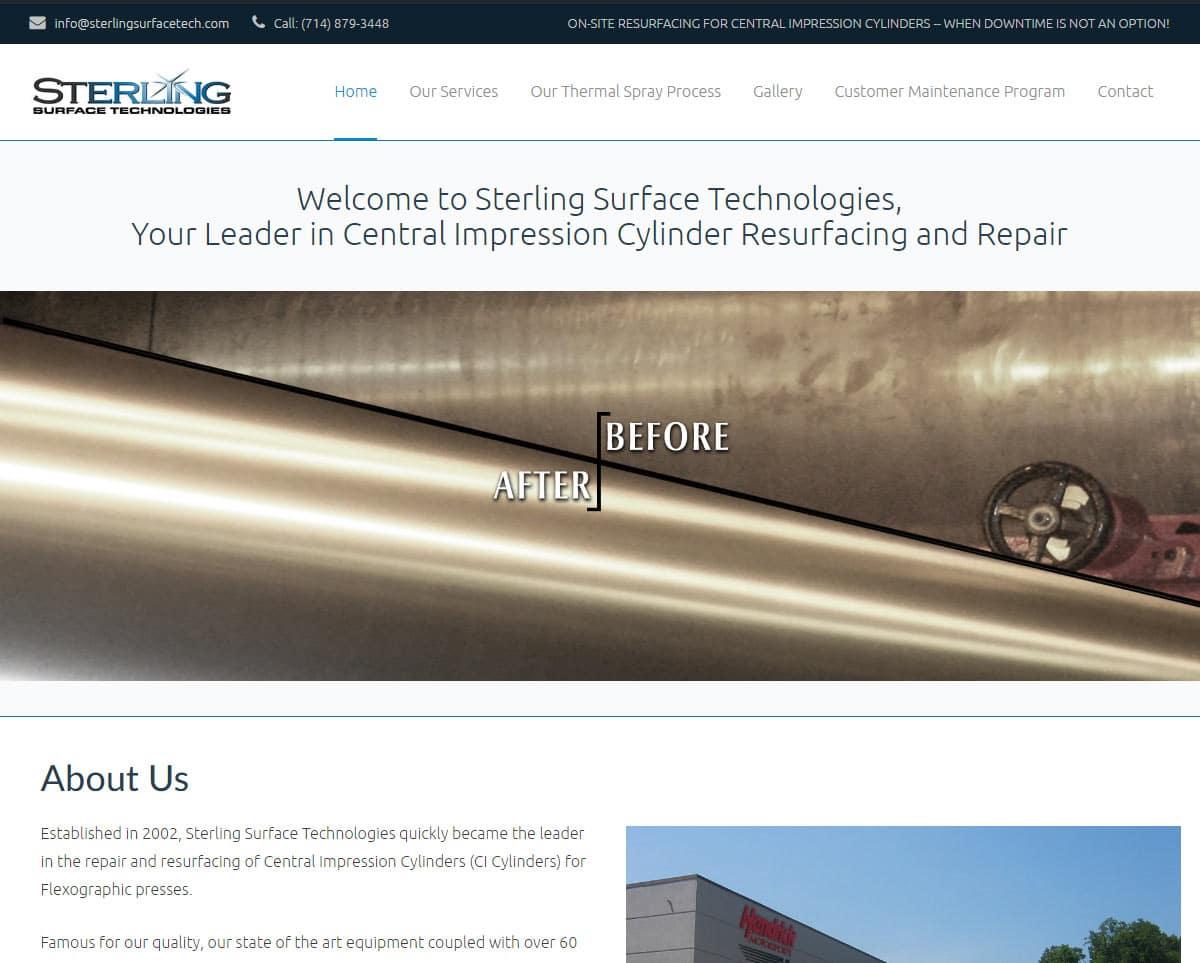 Websites for Industry