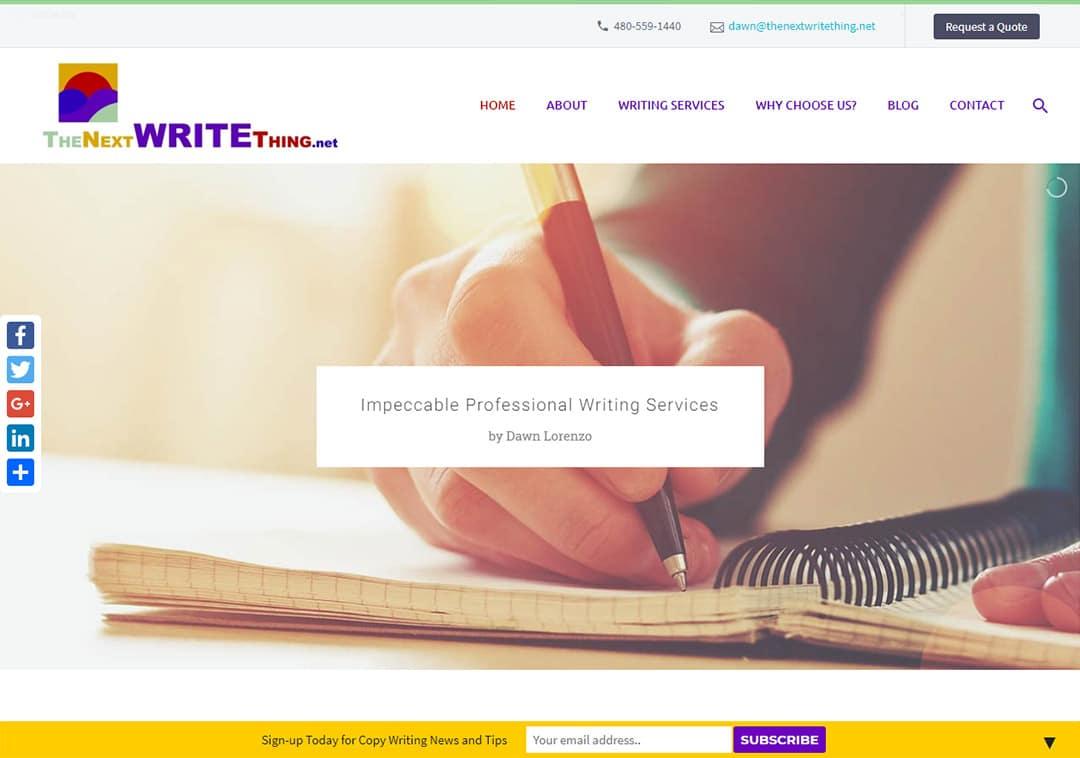 Web Design for Copywriters