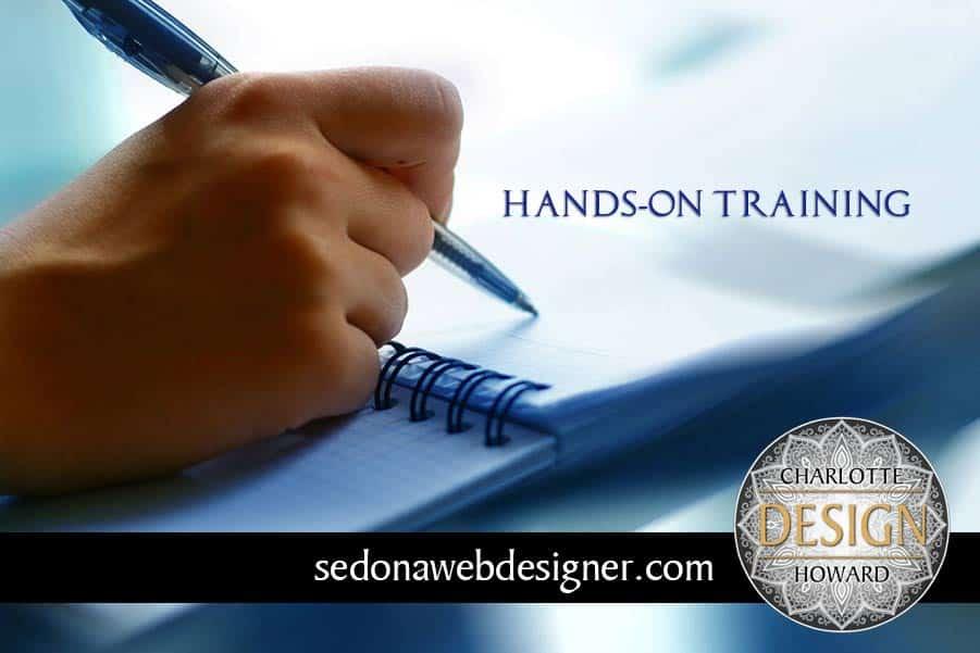 WordPress and Photoshop training in Sedona