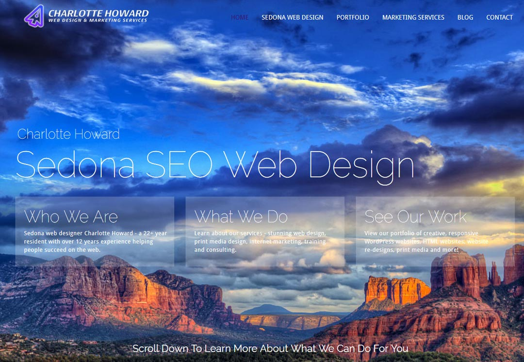 Website Design Sedona