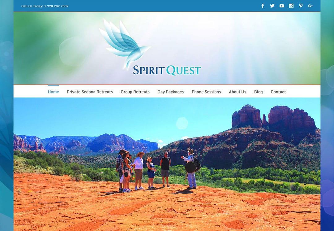 Website Design for Sedona Retreats