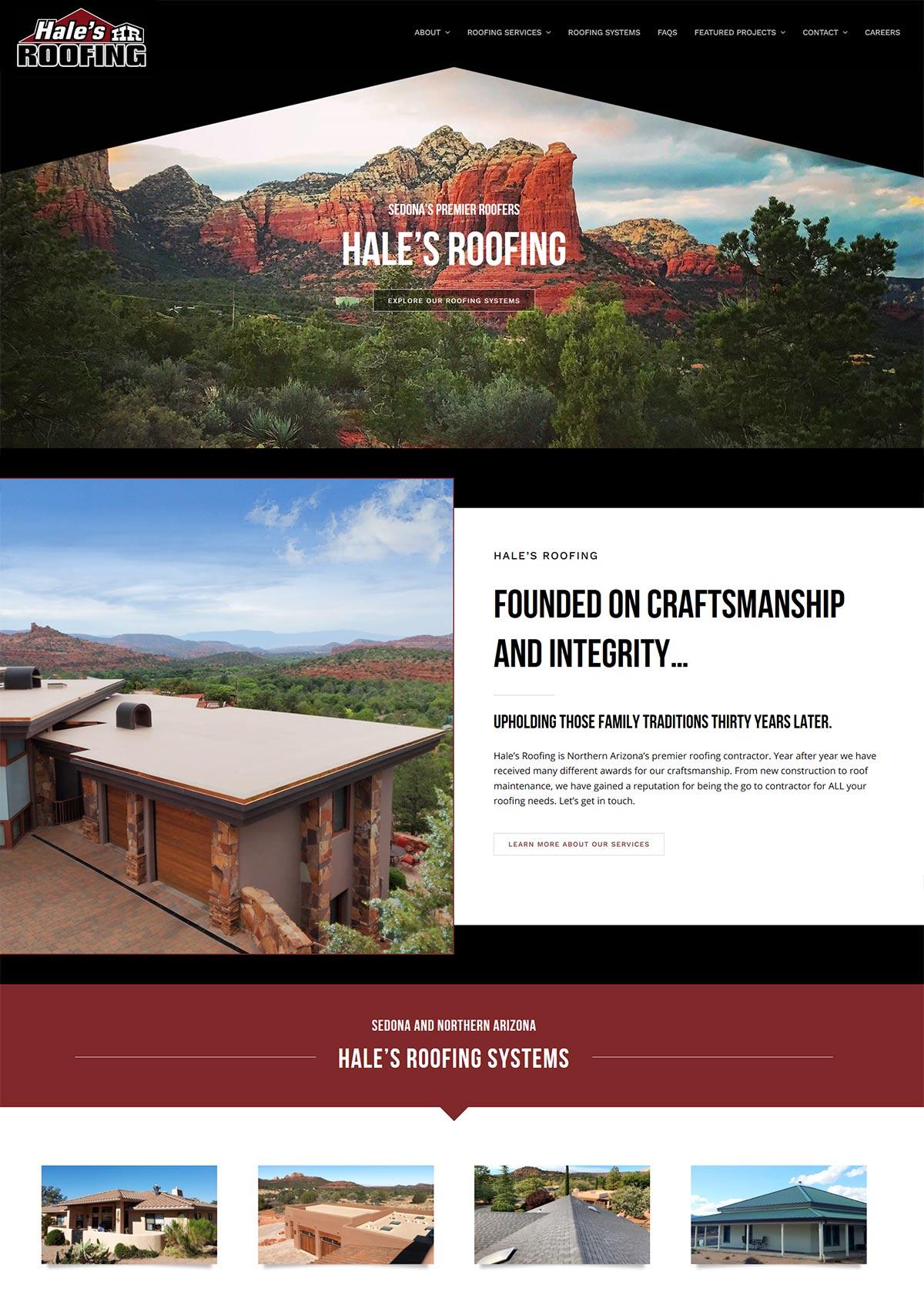 Websites for Roofers