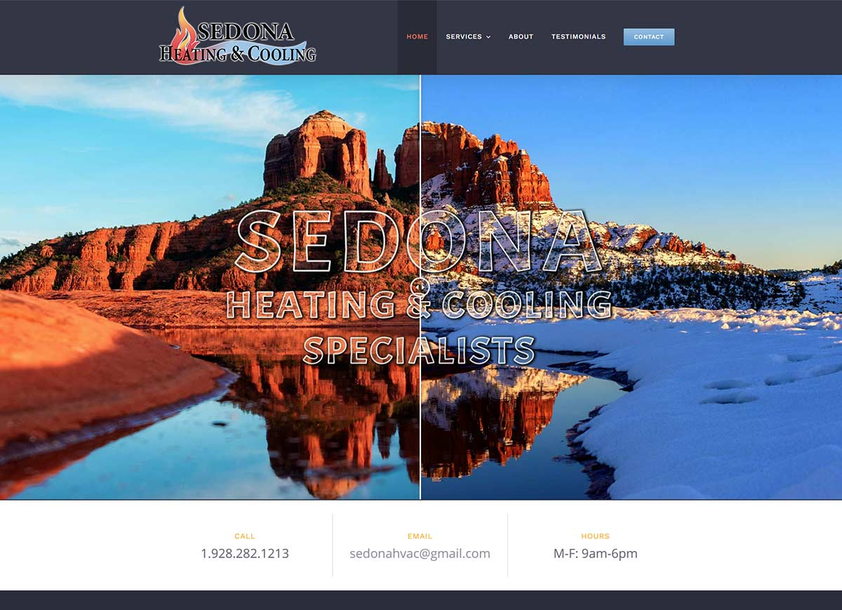 Sedona Heating and Cooling - after